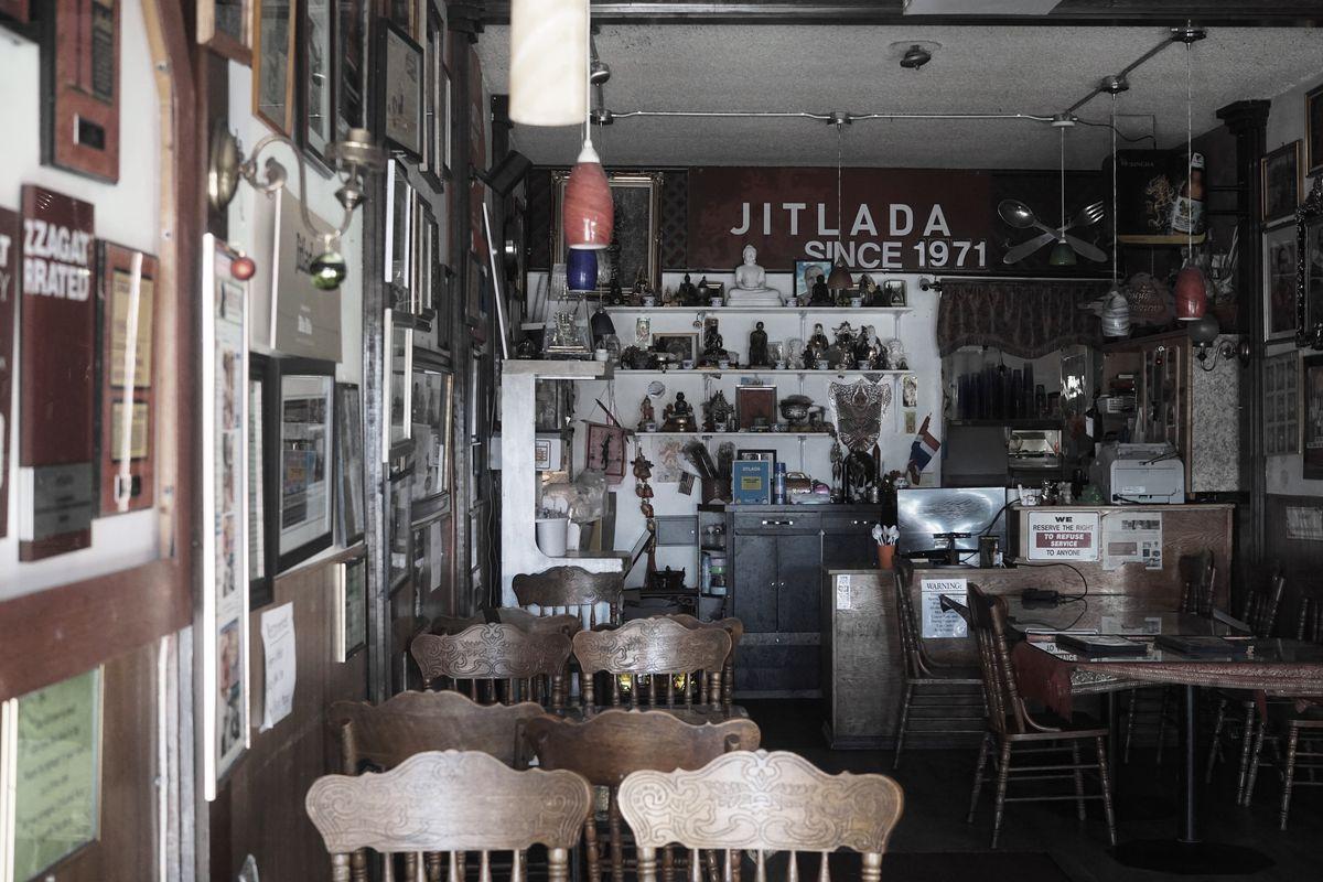 Inside Jitlada Restaurant, Thai Town