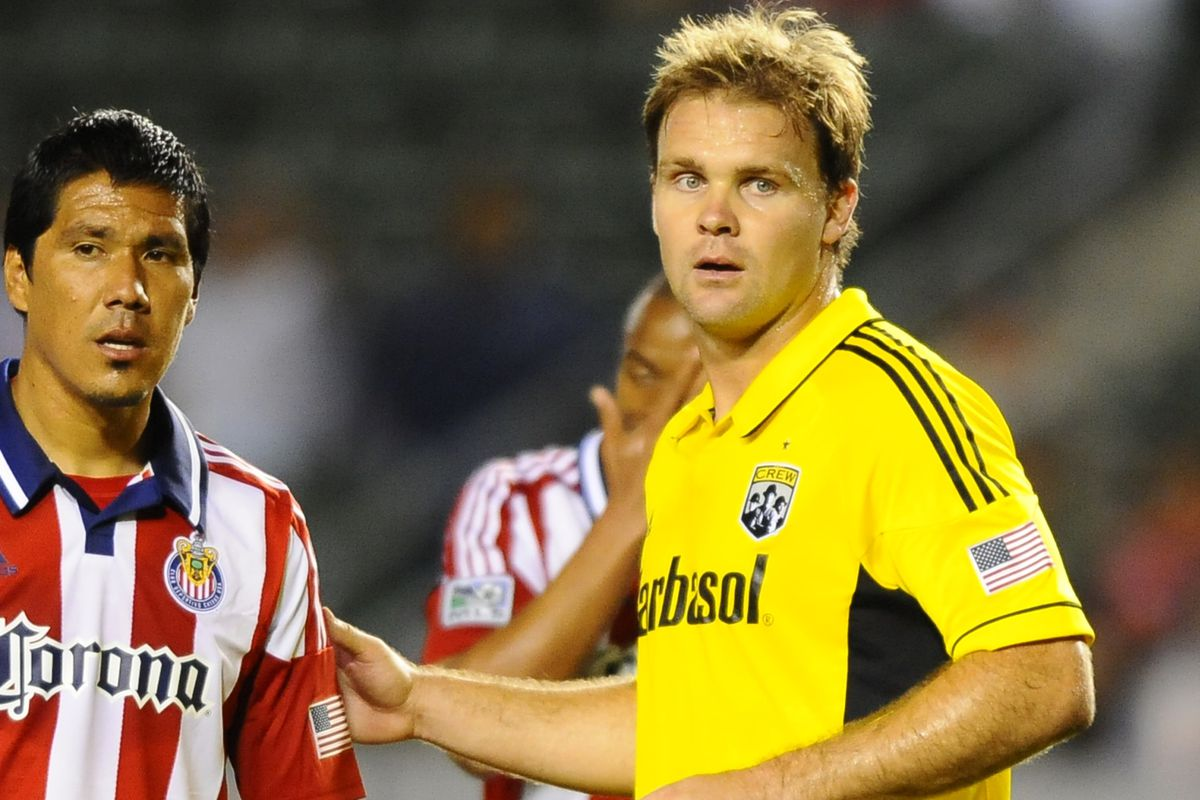 One of these guys has 224 games of MLS experience. The other has one.