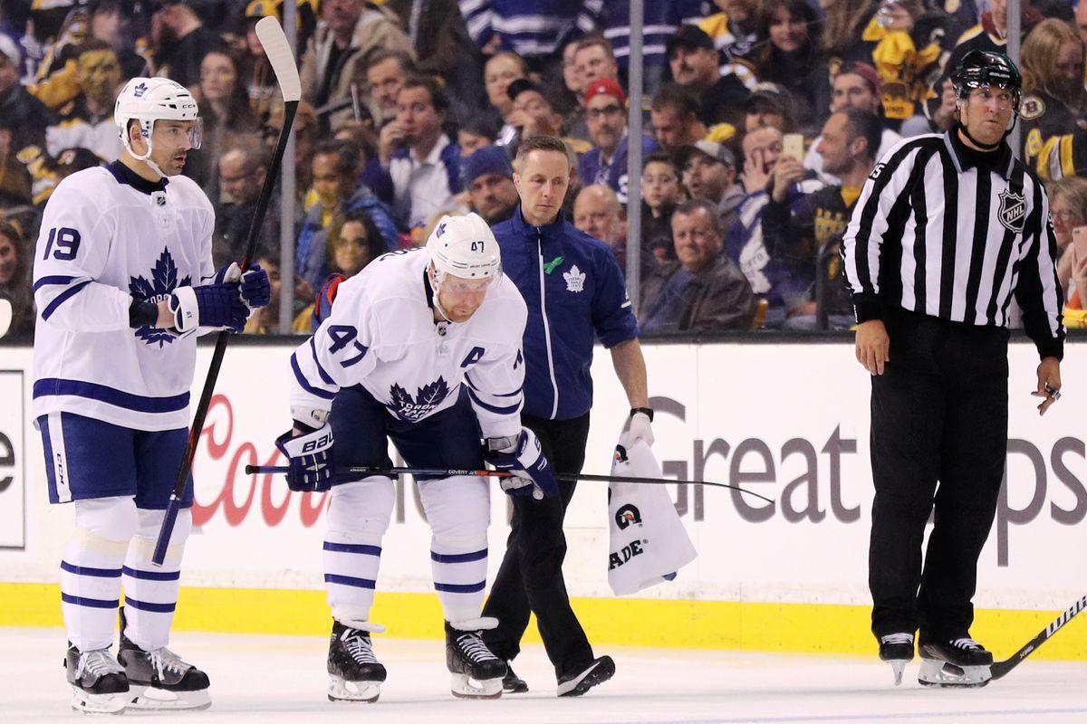 Toronto Maple Leafs v Boston Bruins - Game Two