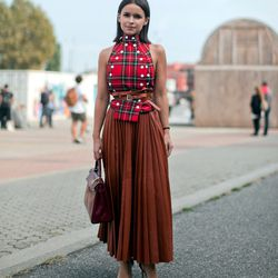 """""""Love Miroslava Duma."""" Photo by <a href=""""http://www.thestyleograph.com/"""">The Styleograph</a>"""