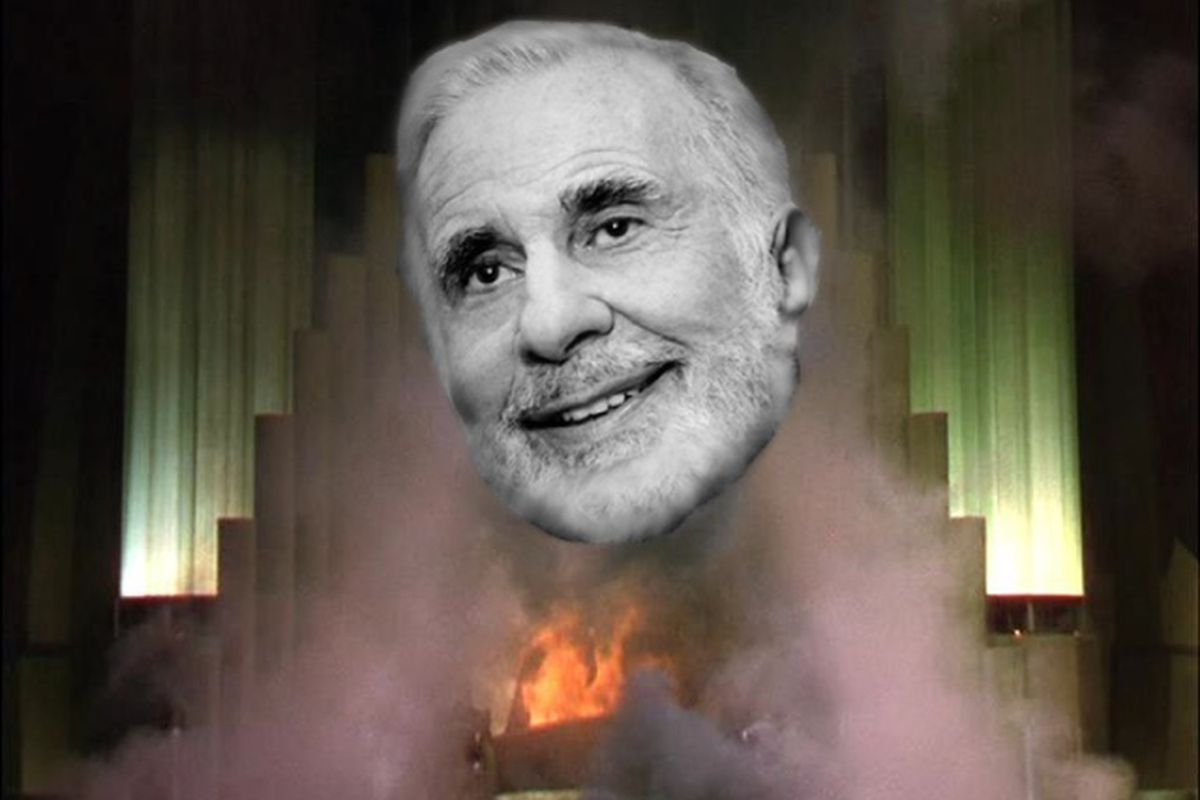 Ruh-Roh. Carl Icahn Has a Message for Apple's Tim Cook.