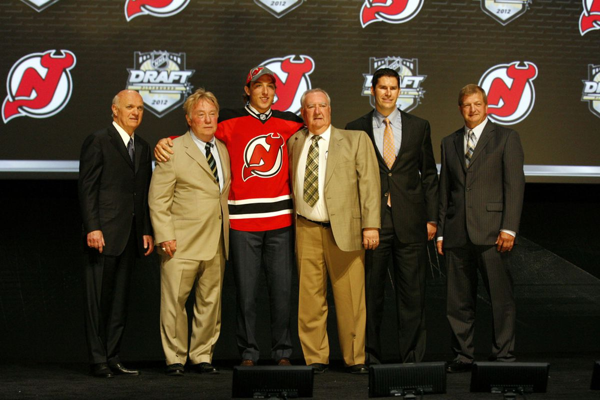 Matteau is the most recent first round draft pick for the Devils - who will be the next?