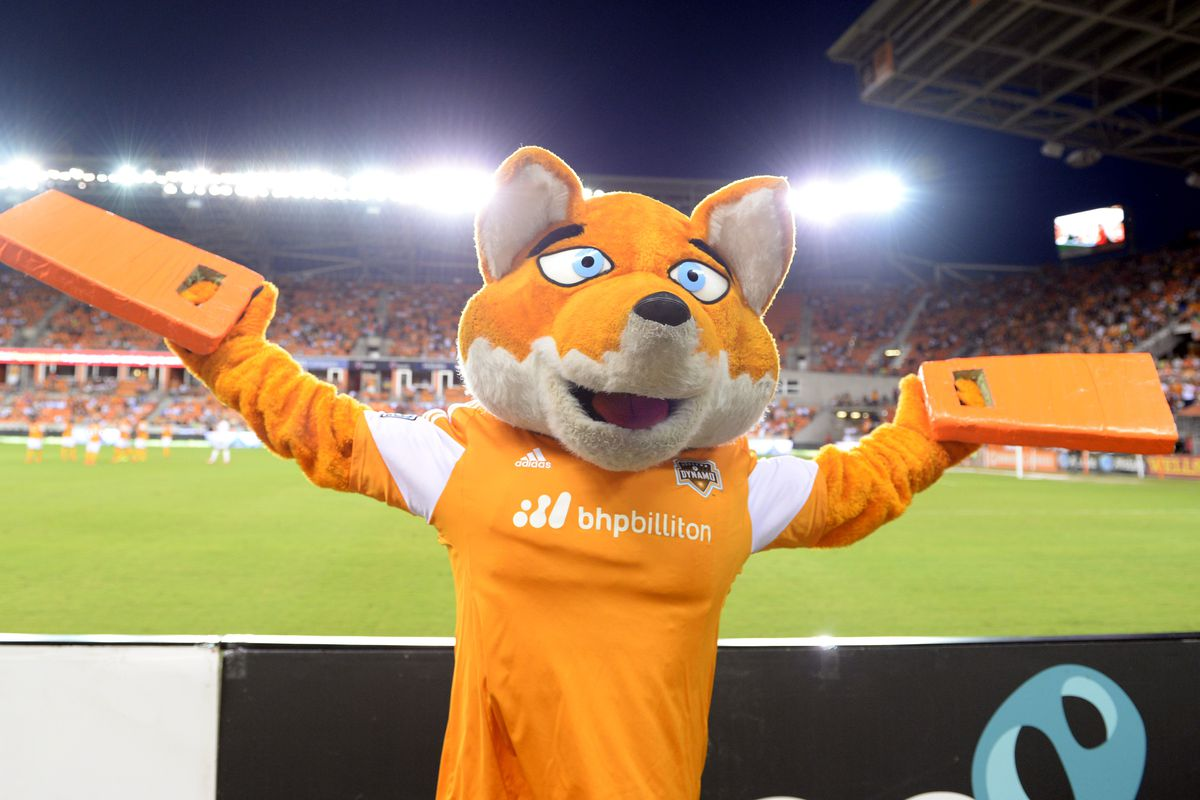 """""""Know what would be cool? To have an orange fox mascot with soulless, crossed eyes patrolling the sidelines."""" - No One Ever"""