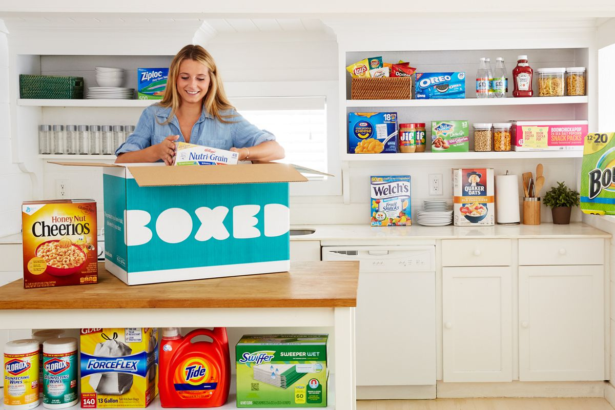 The head of Boxed's fastest-growing business is leaving amid sale talks with Amazon and Kroger