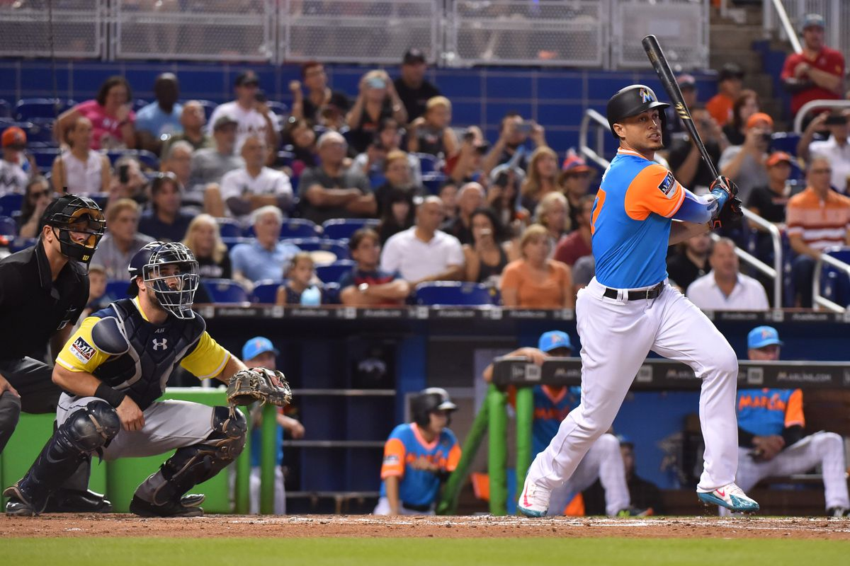 Giancarlo Stanton is on pace for the first 60-homer season in 16 years c17031f749b