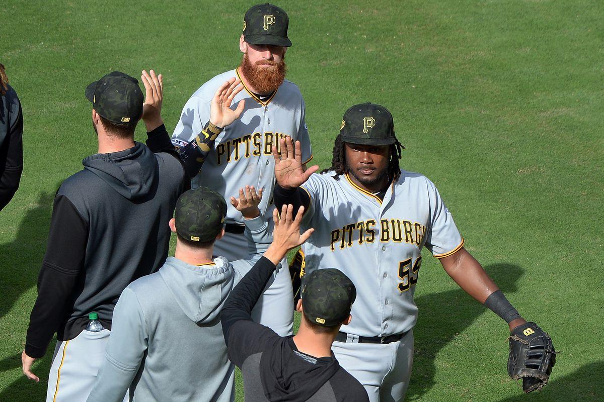 MLB: Pittsburgh Pirates at San Diego Padres