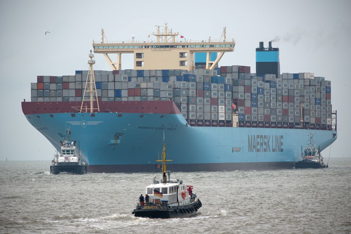 The MSC Oscar just became the world's biggest container ship