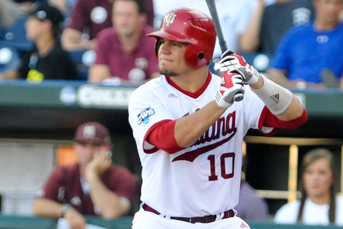 Kyle Schwarber's bat is going to land him in the first round next month