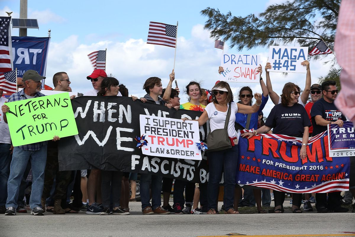 Trump supporters hold rallies across the US.