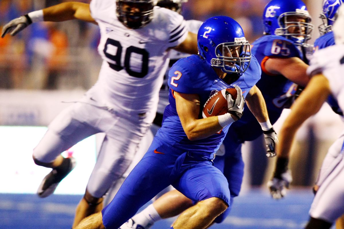 BYU takes on BSU in Boise this year.