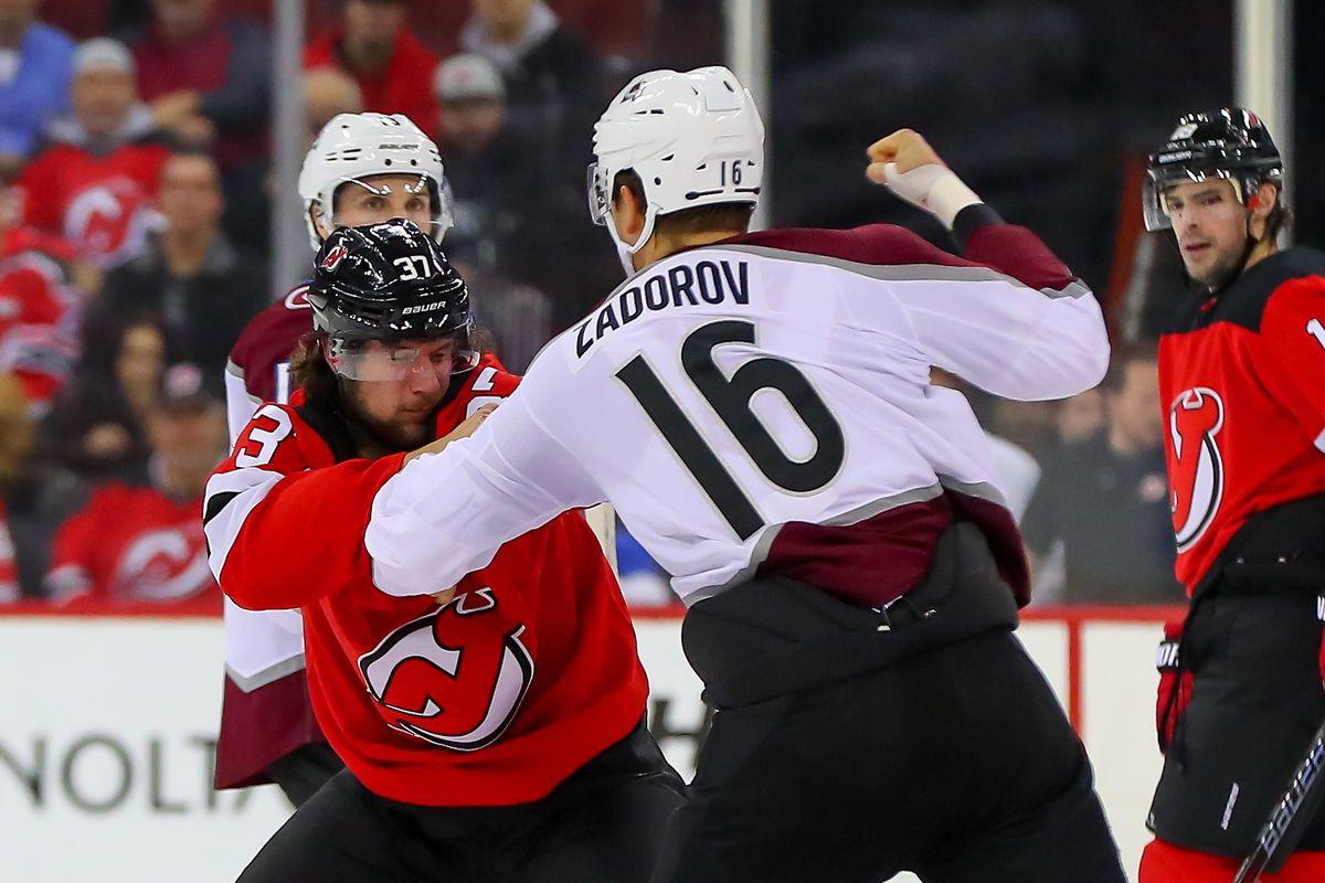 NHL: OCT 18 Avalanche at Devils