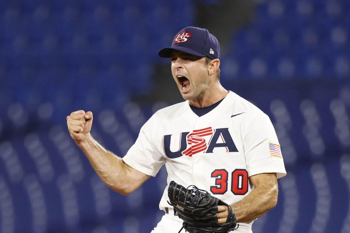 Olympics: Baseball-Men Group B - KOR-USA