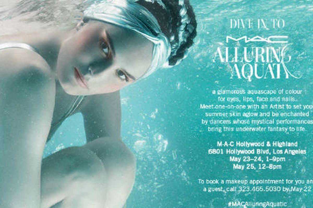 Flyer via M.A.C. Cosmetics