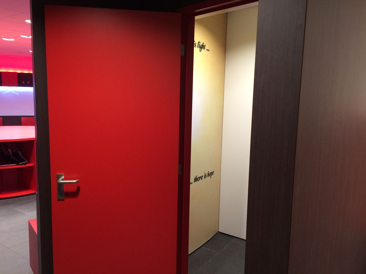 PSV Home Dressing Room