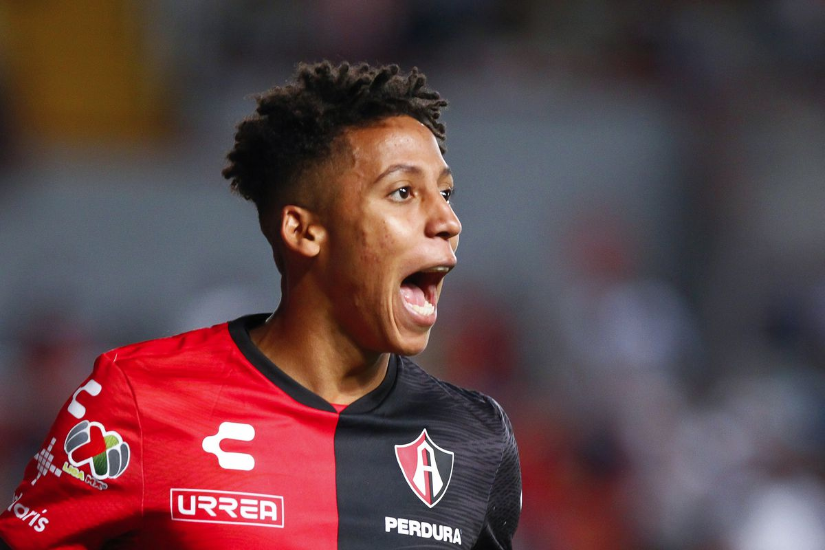 Jonathan Herrera scored his first Liga MX goal against Santos last season and is developing into a solid player for Atlas.