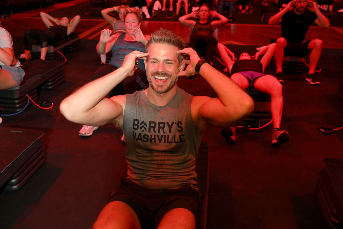 CMT Sweat with Barry's Bootcamp