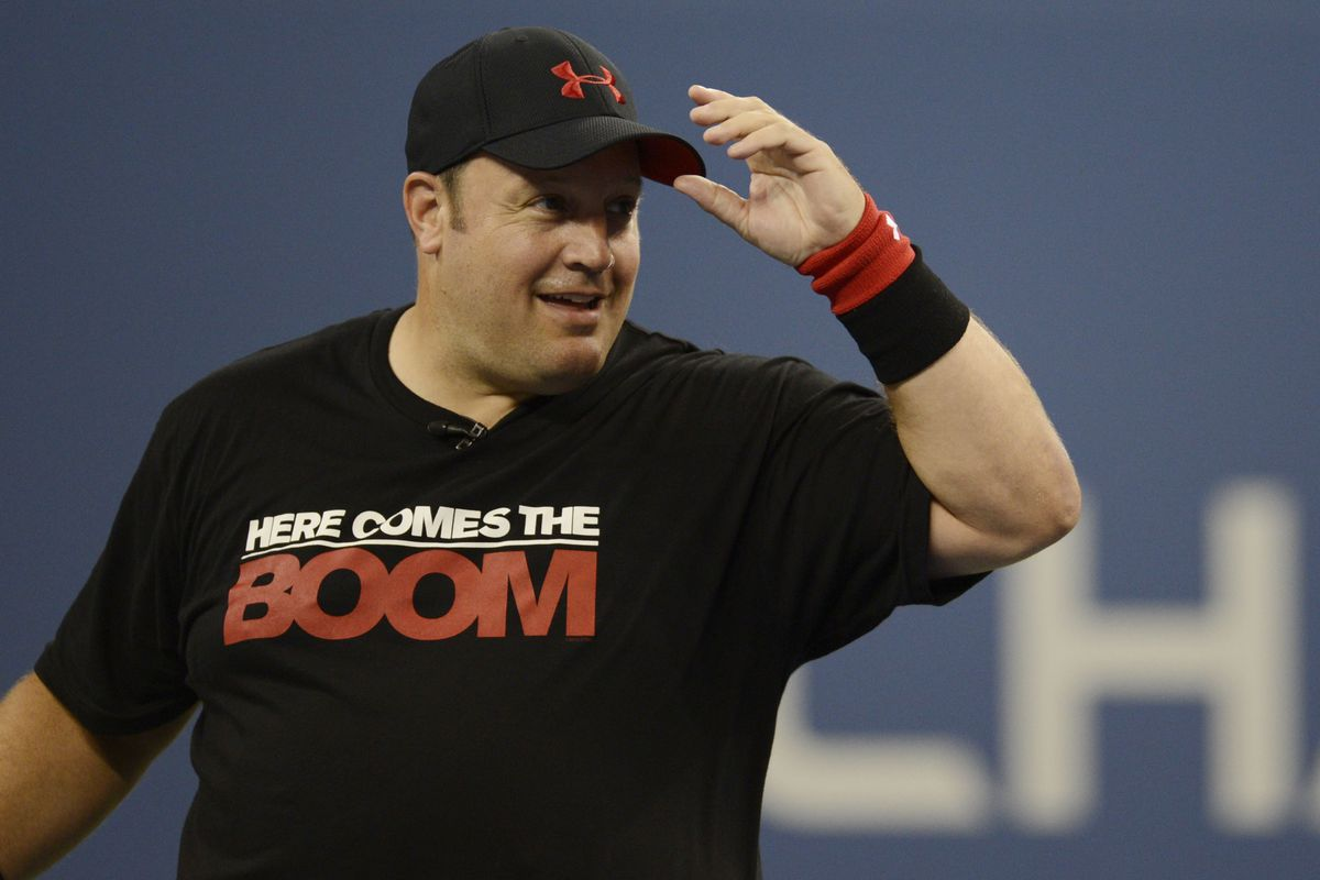 Kevin james on filming 39 here comes the boom 39 39 i for How many kids does kevin james have