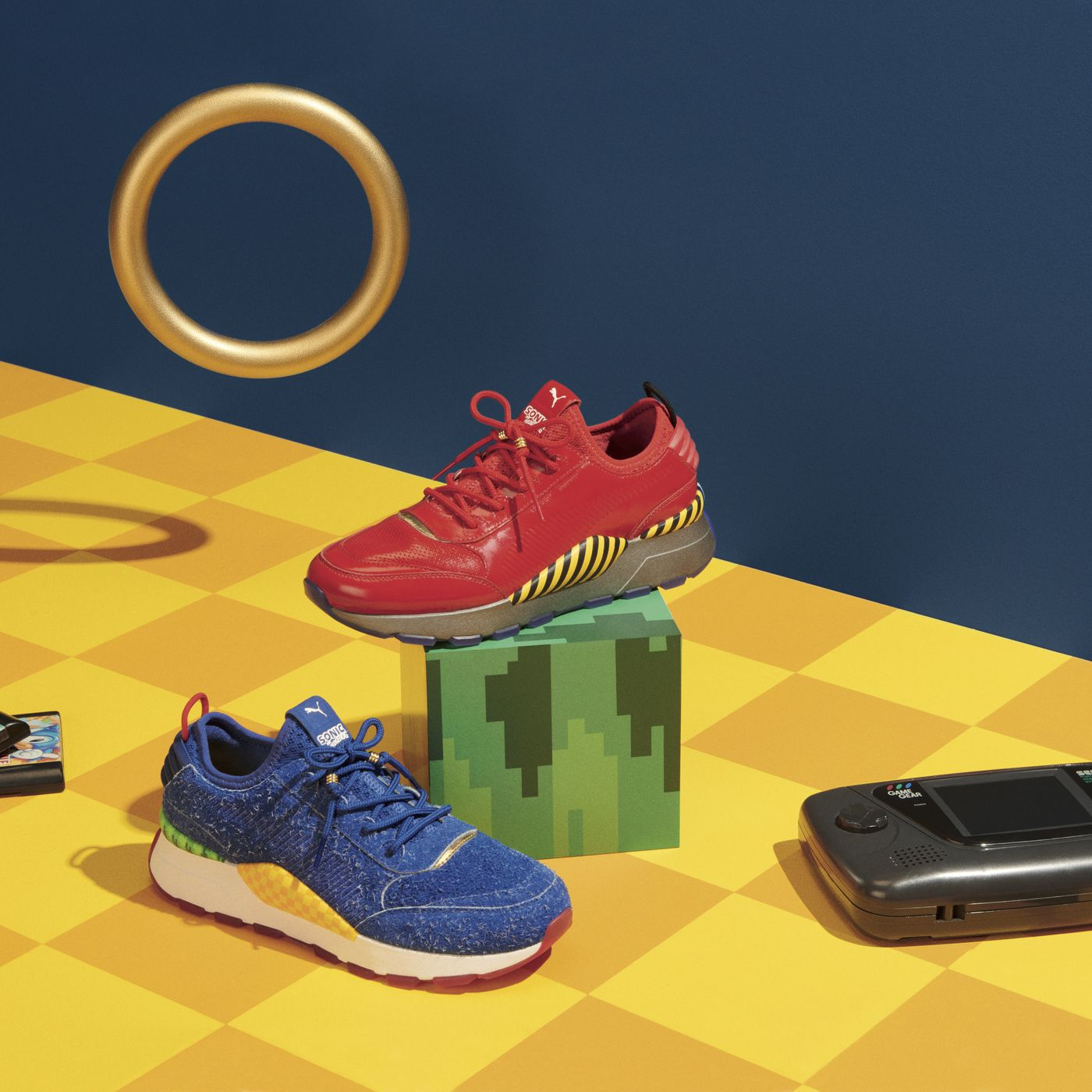 Puma S Sonic The Hedgehog Sneakers On Sale Starting June 5 Polygon