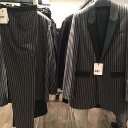 Matching blazer, $637.50 (was $2,550) and pants, $217.50 (from $870)