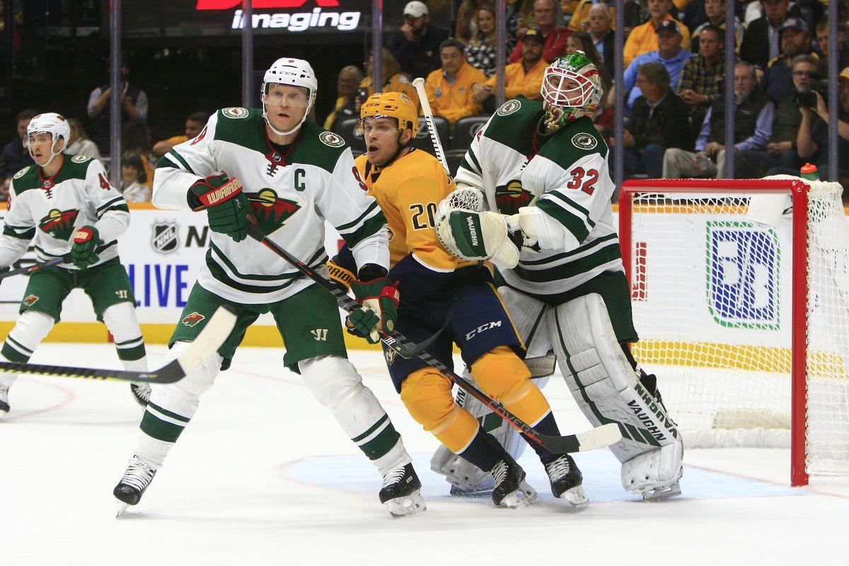 NHL: OCT 24 Wild at Predators