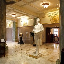Main lobby at the Joseph Smith Memorial Building for a special section on Hotel Utah's centennial Wednesday, May 18, 2011, above Salt Lake City, Utah.