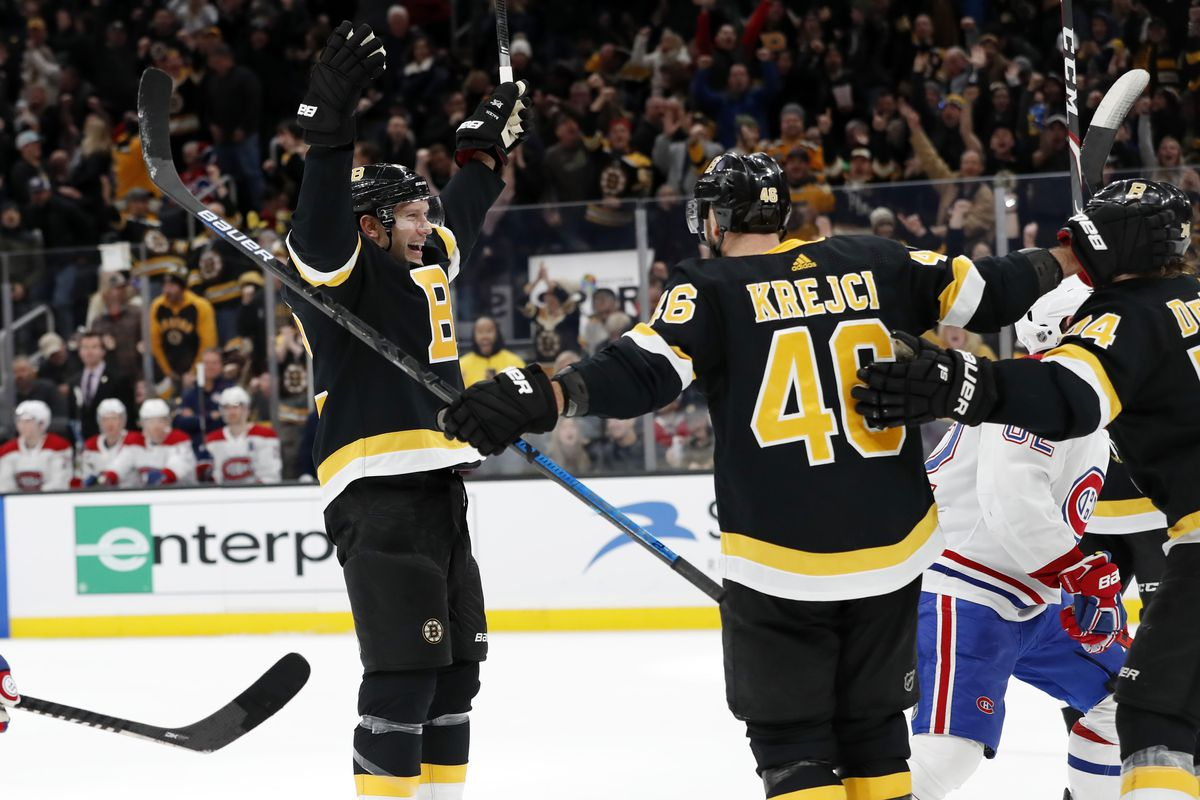 For the Bruins and David Backes, it's an ending that seemed destined from the start