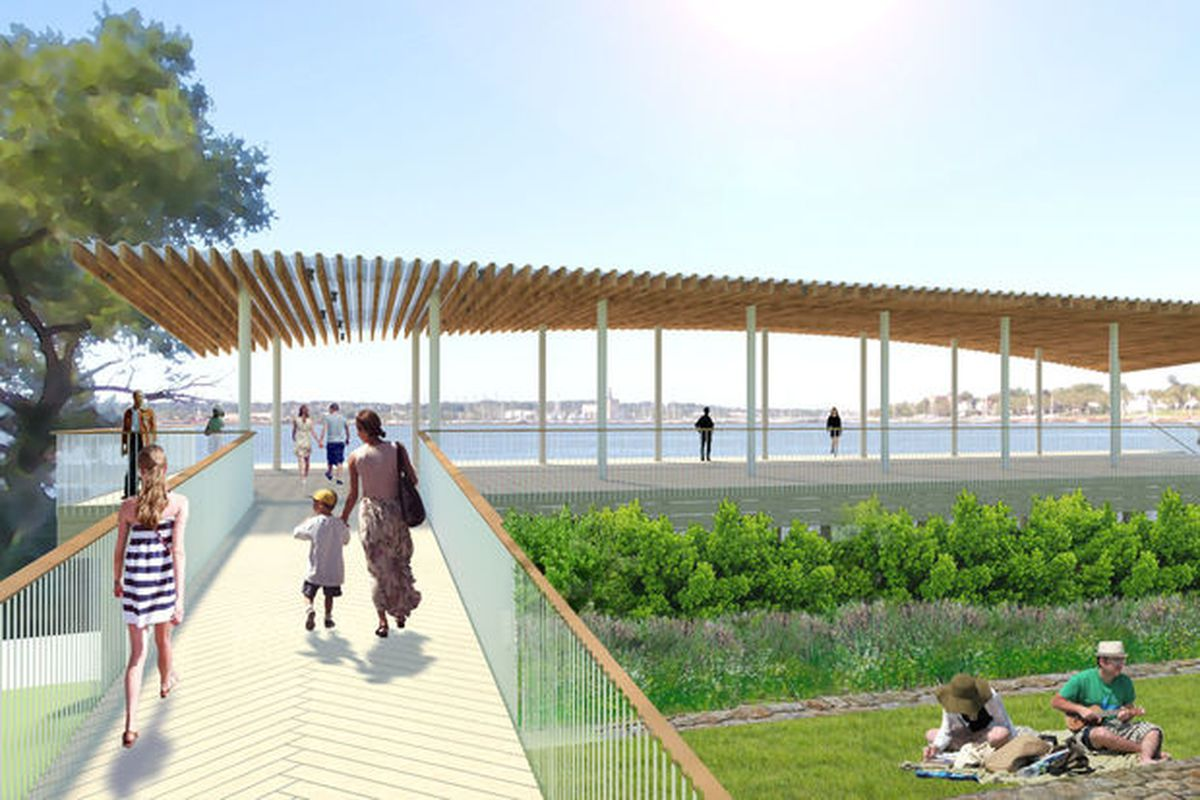 staten island movers rendering conference house park sage and coombe via dnainfo staten islands construction on is finally moving