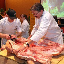 Butchery demonstration