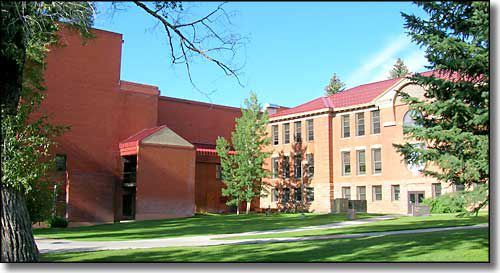 Campus of Western State Colorado University in Gunnison