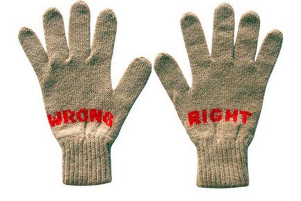 """Gloves for the mom """"who is something less than a perfectionist"""" via Racked NY"""