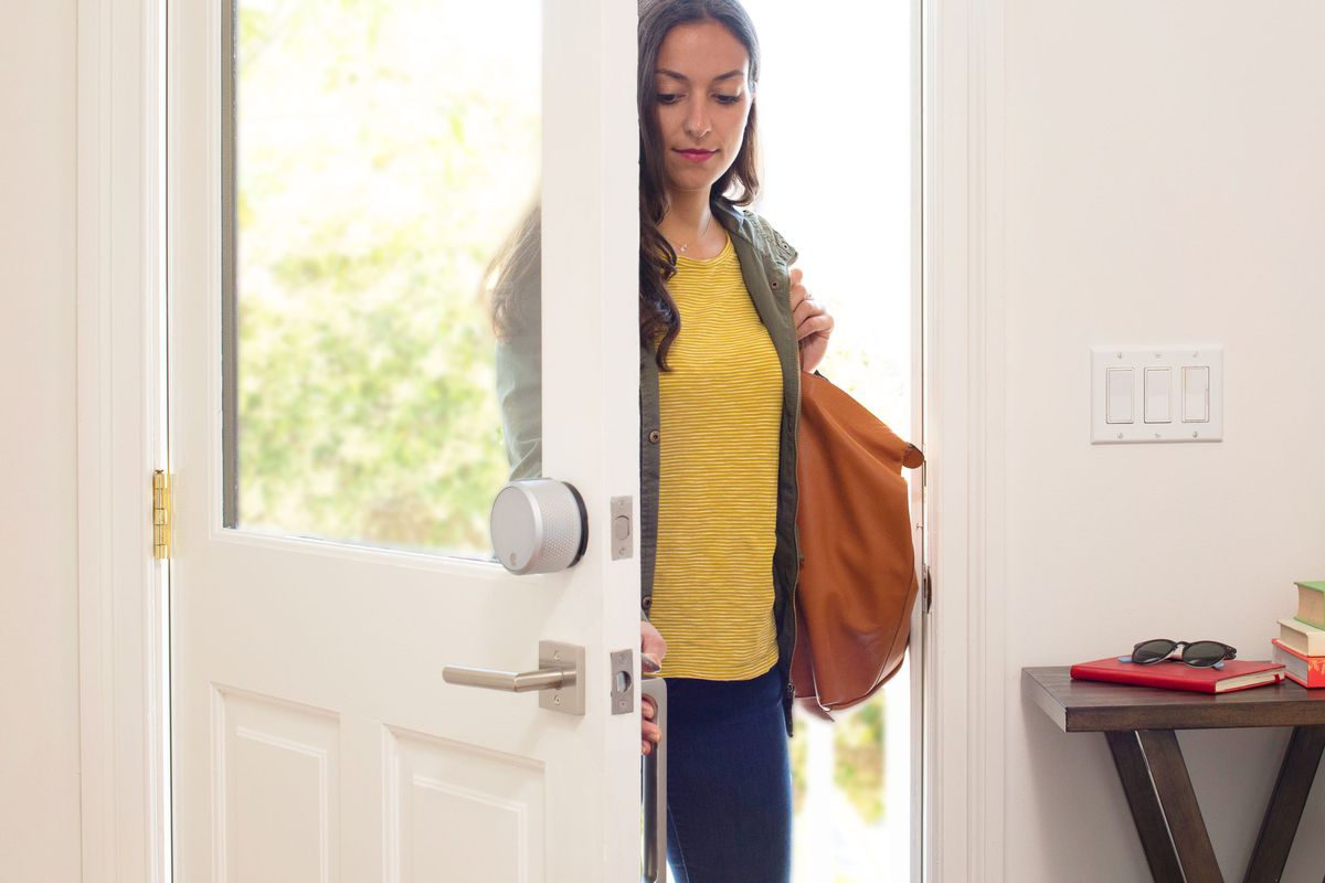 New product line released by August Smart Lock includes a door sensor