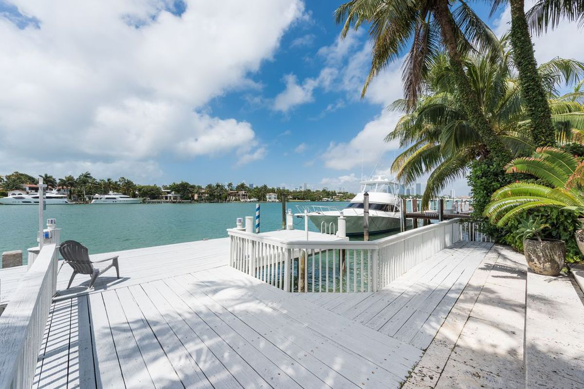 A home for sale at 56 South Hibiscus Drive in Miami Beach