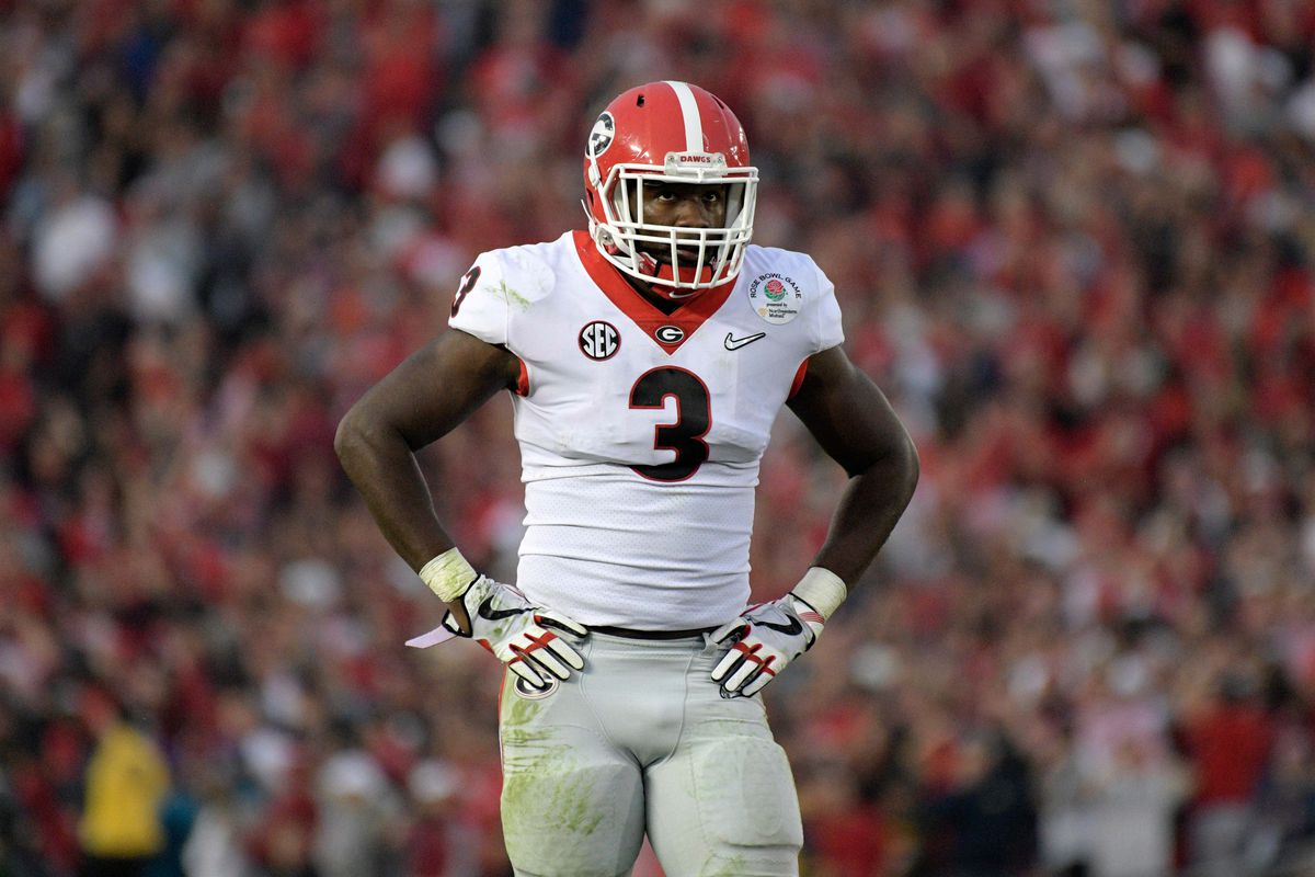 watch 49e13 df430 Bears draft results: Roquan Smith is the No. 8 overall pick ...