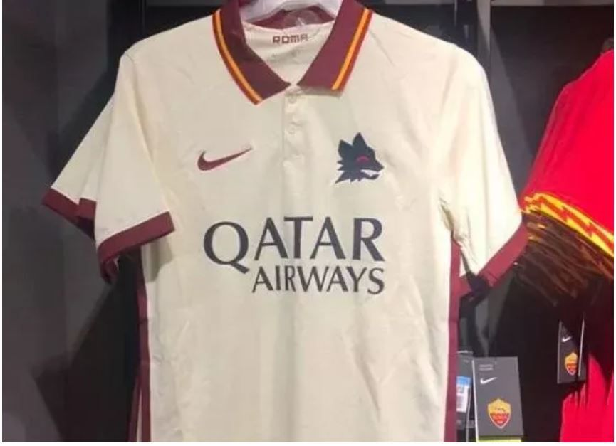 Roma's 2020-2021 Away Shirt Appears in Stores - Chiesa Di Totti