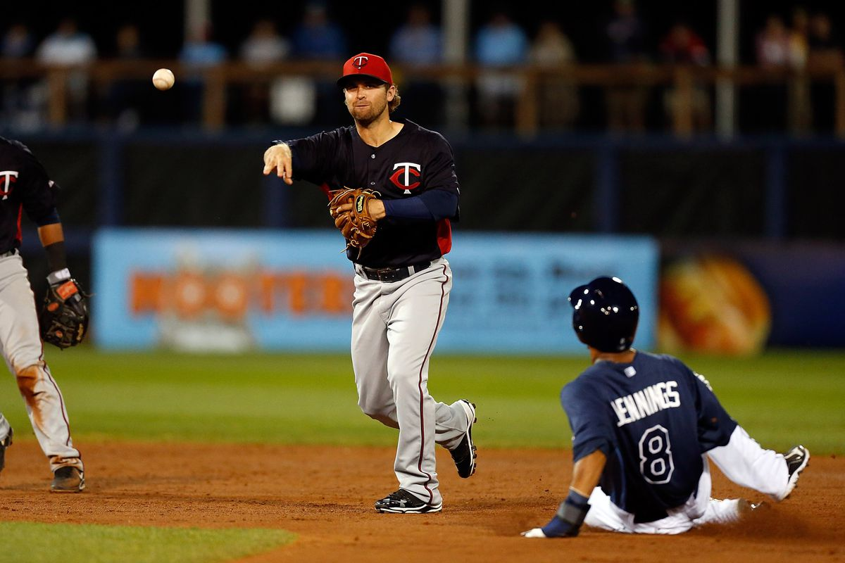 Dozier appears to have the inside track at second base.