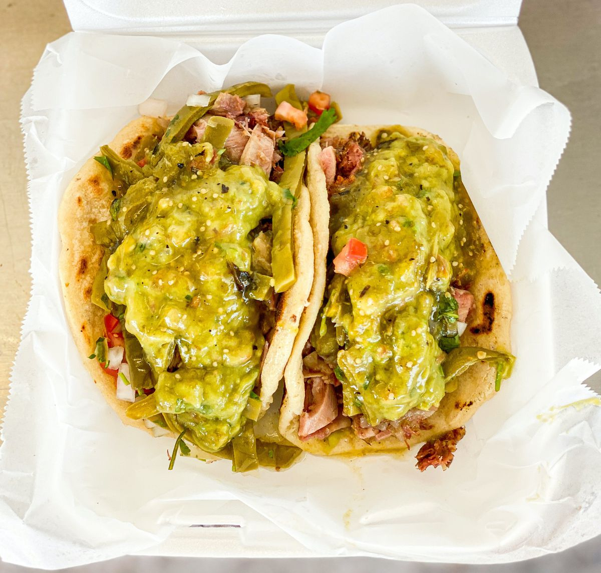 For the kind of comforting LA tacos that never get old: Los Cinco Puntos.