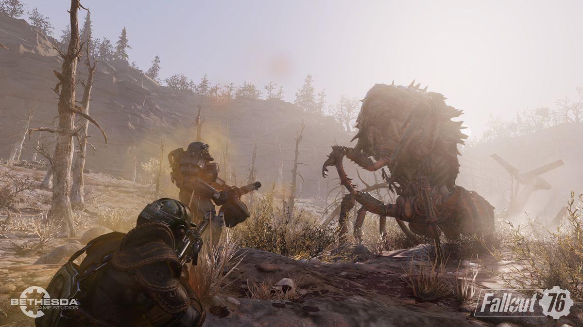 Fallout 76 beta - Mirelurk Queen