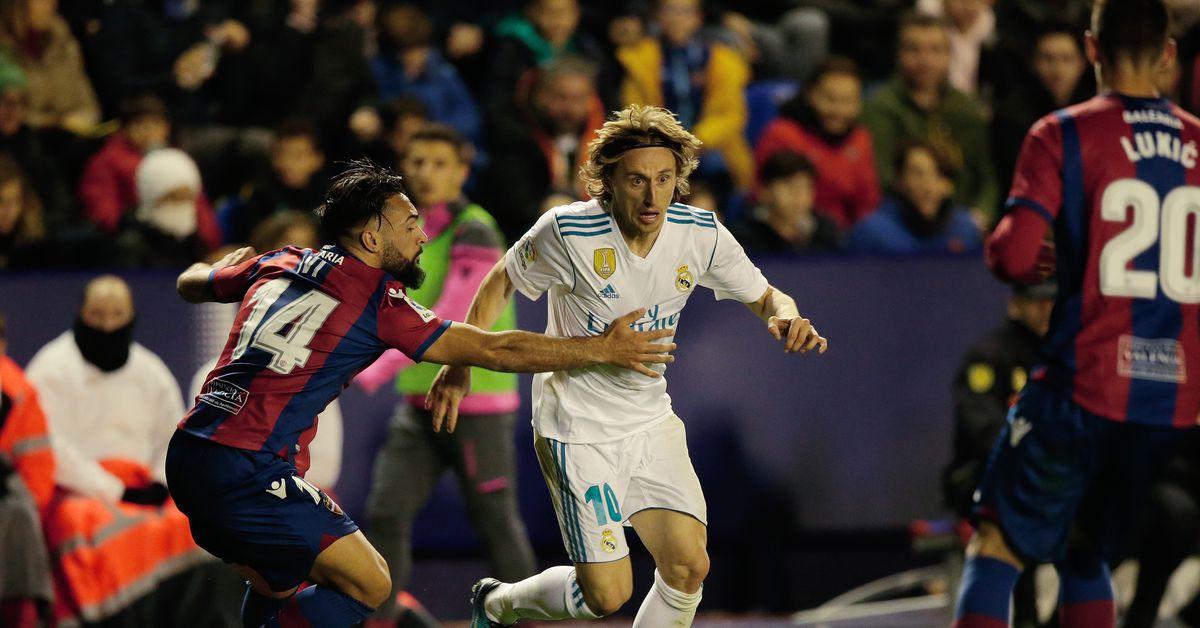 Player Ratings Real Madrid 2: Real Madrid 2; La Liga 2018