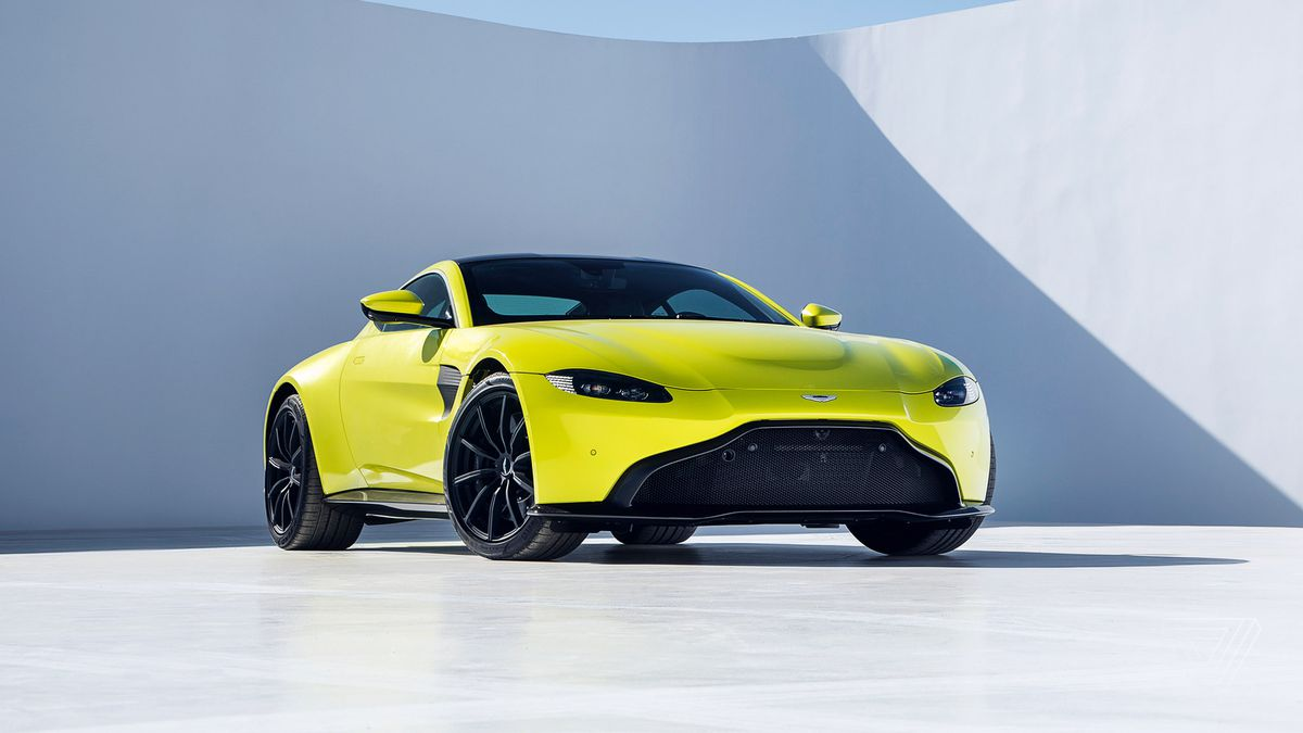 Aston Martin Shows Off A New Vantage The Verge - Aston martin sports car