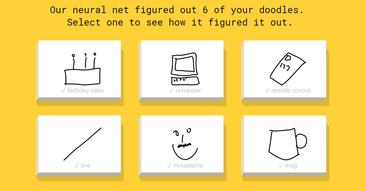 This Google-powered AI can identify your terrible doodles