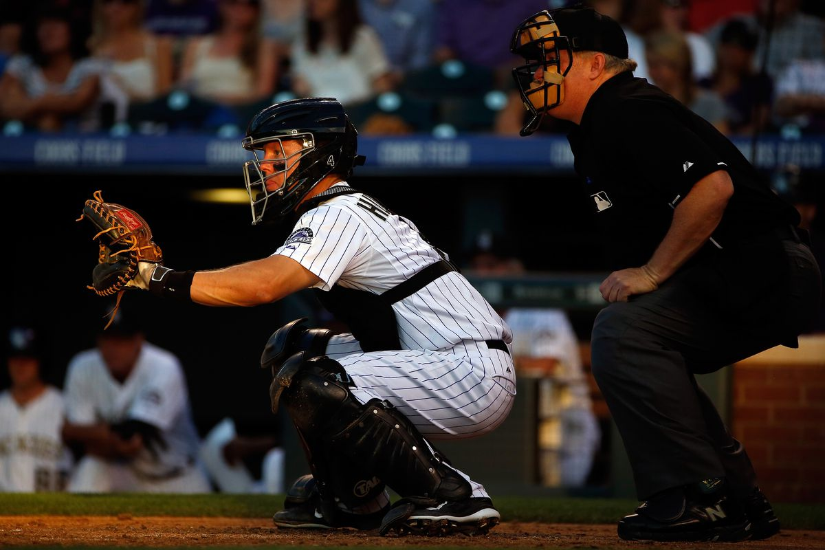 Rockies catchers in 2015 show that bad pitch framing can be costly ...