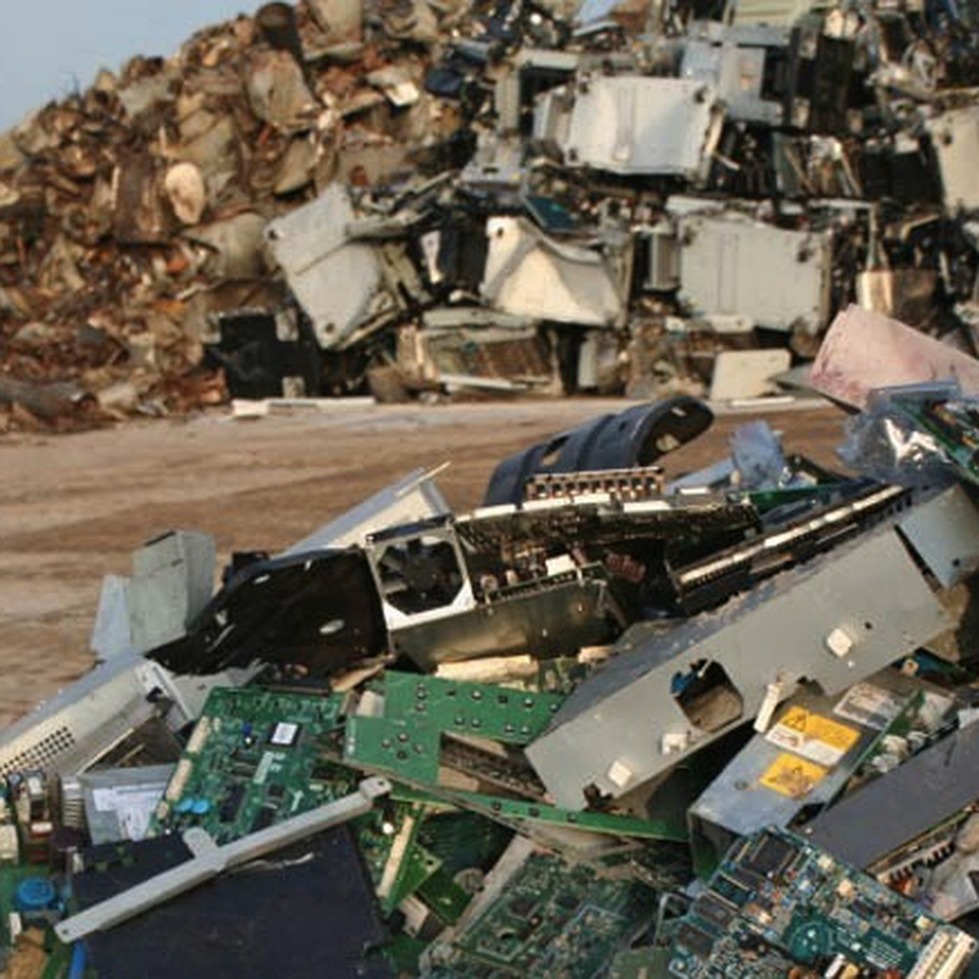 Why failing to recycle electronics leaves gold mines