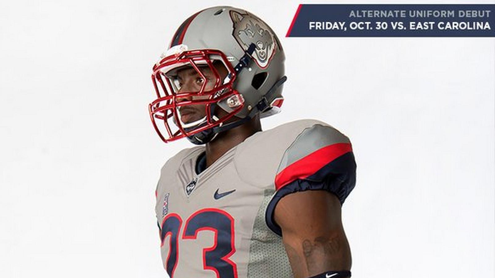 UConn Huskies Football to Wear Alternate Uniforms Against East Carolina -  The UConn Blog 32f4e00bc