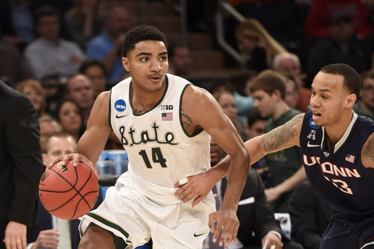 Gary Harris could be leaving East Lansing early.