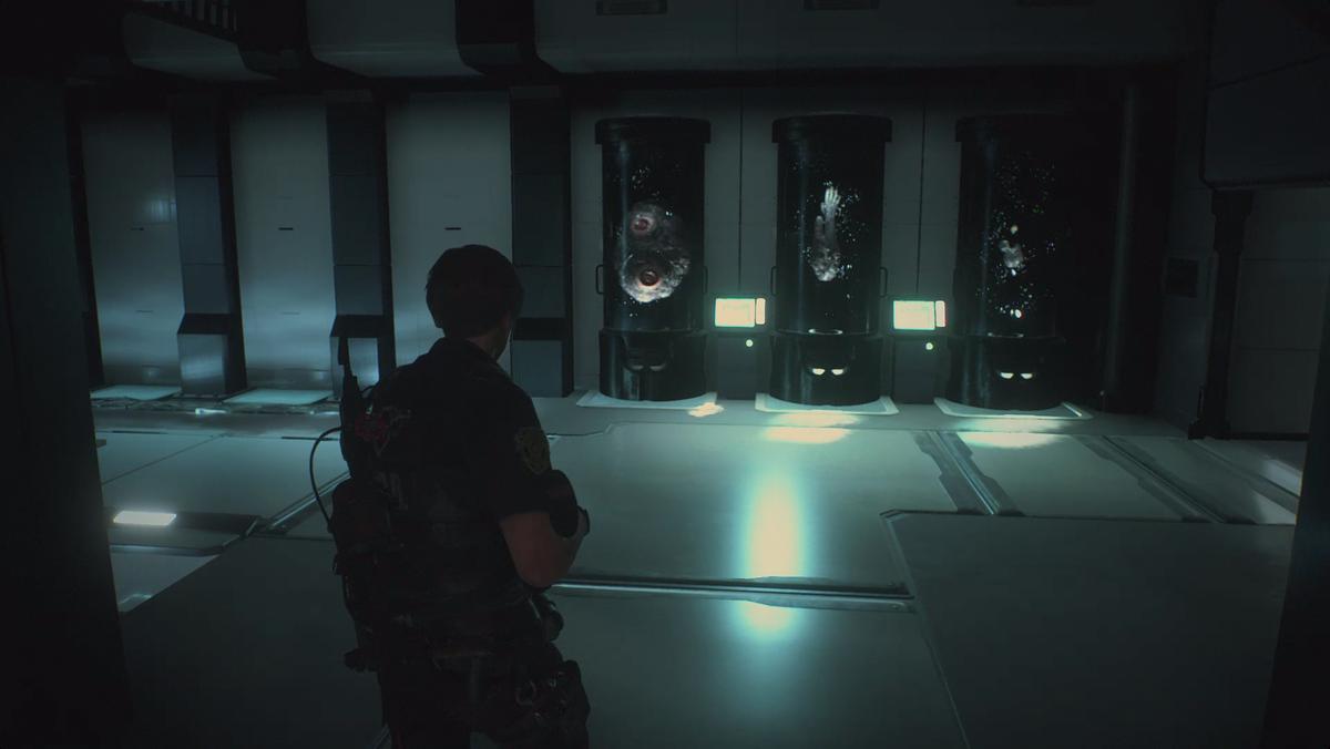 Resident Evil 2Bioreactor Lab
