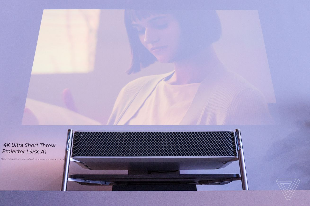 sony s marble topped projector will look incredible in your penthouse apartment