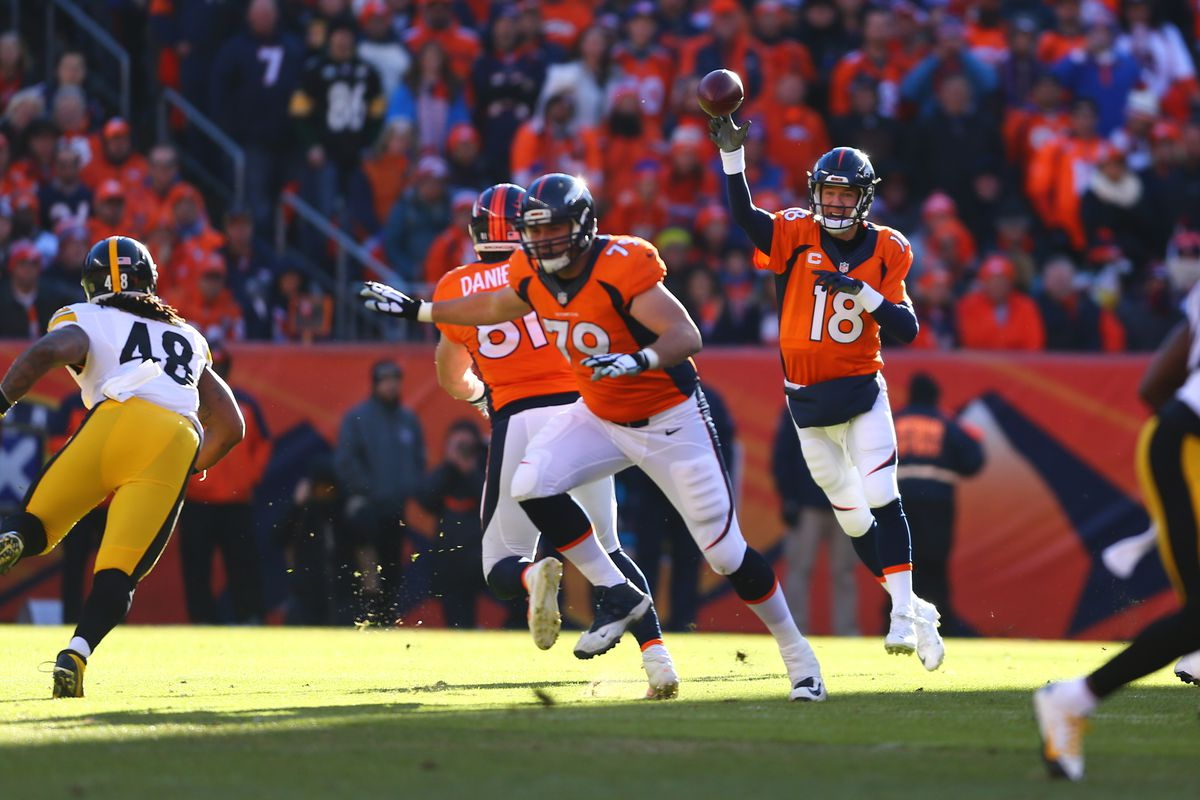 ae64bbde1fa Pittsburgh Steelers at Denver Broncos  Second quarter recap - Mile ...