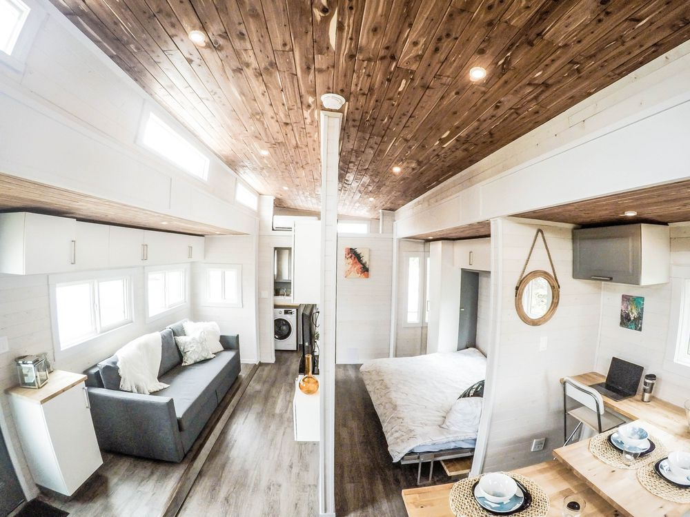 Tiny houses in 2017: More flexible, clever than ever - Curbed on tumbleweed house plans, new york loft floor plans, small loft house plans, micro house floor plans, house designs with floor plans, two bedroom loft floor plans, tiny home house plans,