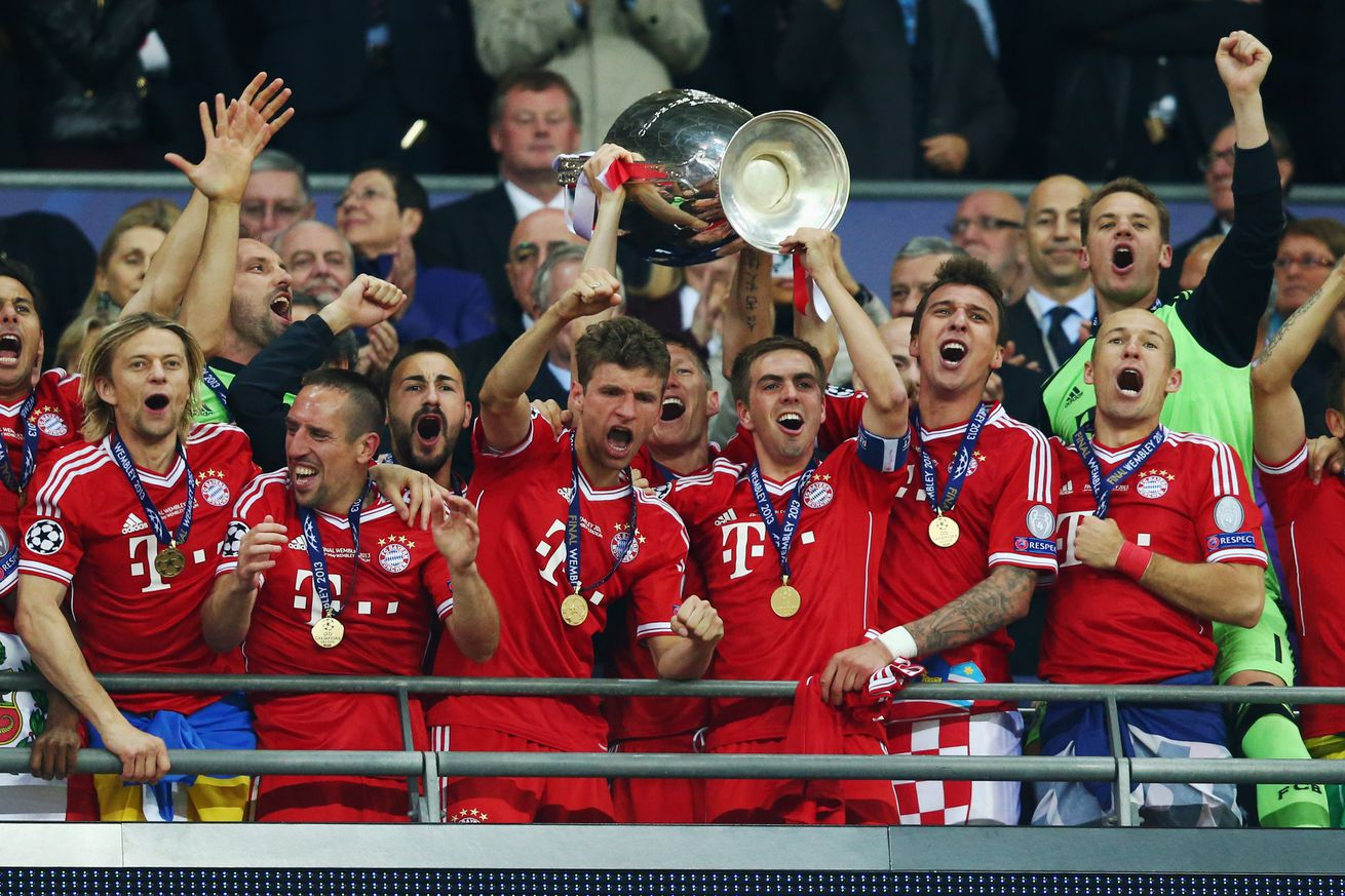 Bayern Munich?s past shows that a roster upheaval may be due
