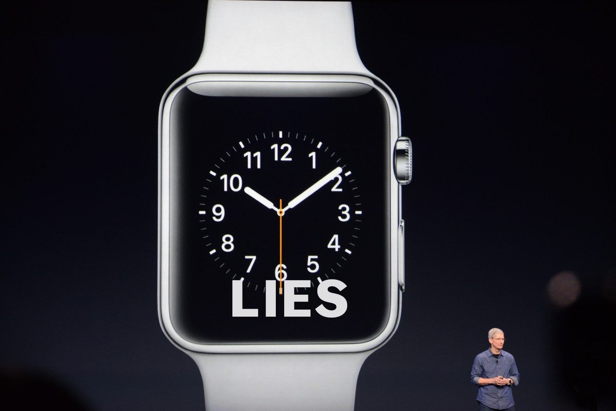 What the watch SHOULD say.